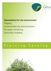 Geostatistics for the Environment - Training Catalog 2013-2014